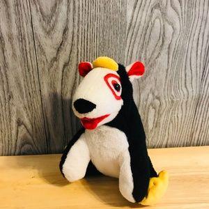 Target Bullseye Red/Black Penguin Suit Plush Toy